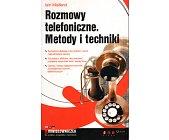 Szczegóły książki ROZMOWY TELEFONICZNE. METODY I TECHNIKI
