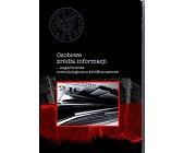 Szczegóły książki OSOBOWE ŹRÓDŁA INFORMACJI - ZAGADNIENIA METODOLOGICZNO-ŹRÓDŁOZNAWCZE