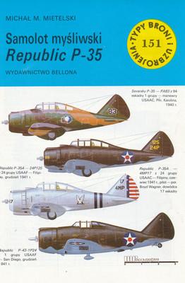 SAMOLOT MYŚLIWSKI REPUBLIC P - 35 (151)