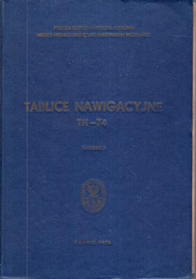 TABLICE NAWIGACYJNE TN-74