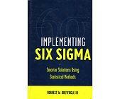 Szczegóły książki IMPLEMENTING SIX SIGMA