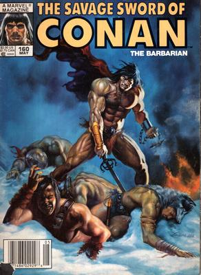 THE SAVAGE SWORD OF CONAN - THE BARBARIAN (NR 160)