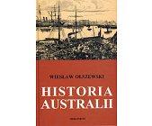 Szczegóły książki HISTORIA AUSTRALII