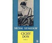 Szczegóły książki CICHY DON - 4 TOMY