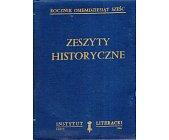 Szczegóły książki ZESZYTY HISTORYCZNE (75 - 78)