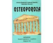Szczegóły książki OSTEOPOROZA