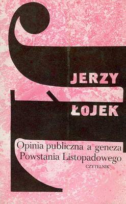 OPINIA PUBLICZNA A GENEZA POWSTANIA LISTOPADOWEGO
