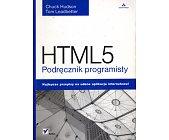 Szczegóły książki HTML5. PODRĘCZNIK PROGRAMISTY