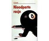 Szczegóły książki NIEODPARTE RACJE