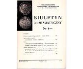 Szczegóły książki BIULETYN NUMIZMATYCZNY NR 6 (104)