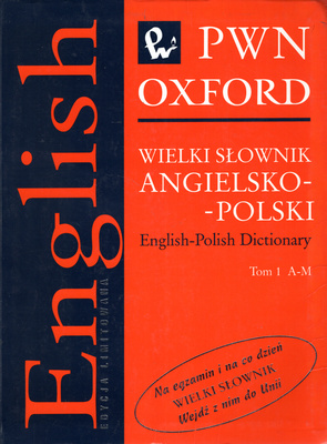 WIELKI SŁOWNIK ANGIELSKO POLSKI - 2 TOMY
