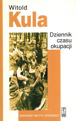 Znalezione obrazy dla zapytania Witold Kula Dziennik czasu okupacji