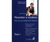 Szczegóły książki MENEDŻER W DZIAŁANIU - 2 TOMY