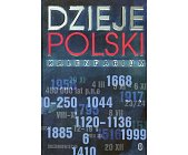 Szczegóły książki DZIEJE POLSKI - KALENDARIUM
