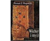 Szczegóły książki WICHER I MYŚLI