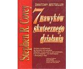 Szczegóły książki 7 NAWYKÓW SKUTECZNEGO DZIAŁANIA