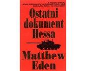 Szczegóły książki OSTATNI DOKUMENT HESSA