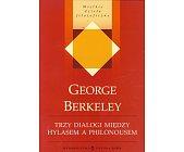 Szczegóły książki TRZY DIALOGI MIĘDZY HYLASEM A PHILONOUSEM