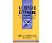 Szczegóły książki LA MUSIQUE ETRANGERE CONTEMPORAINE