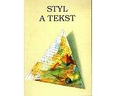 Szczegóły książki STYL A TEKST