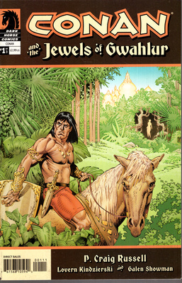 CONAN AND THE JEWELS OF GWAHLUR - VOL 1