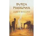 Szczegóły książki BURZA PIASKOWA