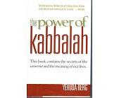 Szczegóły książki THE POWER OF KABBALAH