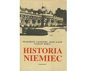 Szczegóły książki HISTORIA NIEMIEC