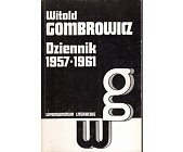 Szczegóły książki DZIENNIK 1957-1961
