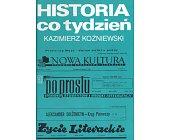 Szczegóły książki HISTORIA CO TYDZIEŃ
