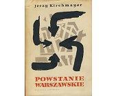 Szczegóły książki POWSTANIE WARSZAWSKIE