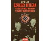 Szczegóły książki SZPIEDZY HITLERA