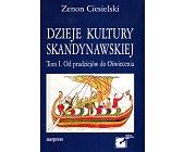 Szczegóły książki DZIEJE KULTURY SKANDYNAWSKIEJ - 2 TOMY