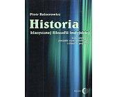 Szczegóły książki HISTORIA KLASYCZNEJ FILOZOFII INDYJSKIEJ