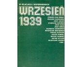 Szczegóły książki WRZESIEŃ 1939 - W RELACJACH I WSPOMNIENIACH