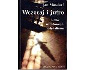Szczegóły książki WCZORAJ I JUTRO
