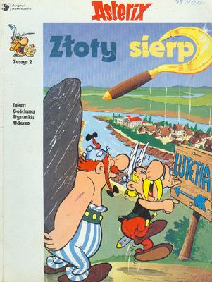 ASTERIX - ZŁOTY SIERP