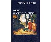 Szczegóły książki DZIEJE FILOZOFII ZACHODU