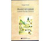 Szczegóły książki PRAWO RZYMSKIE W PRACACH MARCELEGO CHLAMTACZA