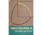 Szczegóły książki MECHANIKA ANALITYCZNA