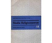 Szczegóły książki STUDIA RELIGIOZNAWCZE - TOM 11