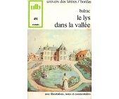 Szczegóły książki LE LYS DANS LA VALLEE