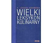 Szczegóły książki WIELKI LEKSYKON KULINARNY