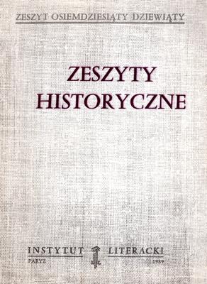 ZESZYTY HISTORYCZNE (89)