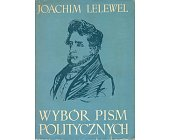 Szczegóły książki WYBÓR PISM POLITYCZNYCH