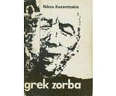 Szczegóły książki GREK ZORBA