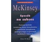 Szczegóły książki MC KINSEY - SPOSÓB NA SUKCES