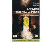 Szczegóły książki LEKSYKON ZAKONÓW W POLSCE