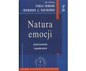 Szczegóły książki NATURA EMOCJI - PODSTAWOWE ZAGADNIENIA