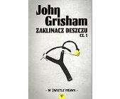 Szczegóły książki ZAKLINACZ DESZCZU - 2 TOMY